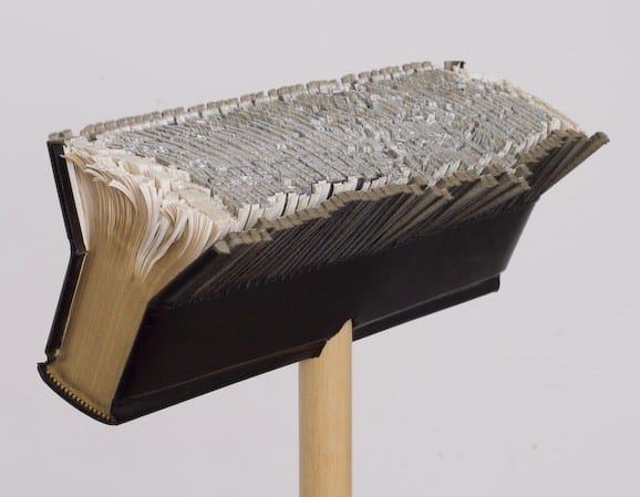 Bookdust Recycled Art