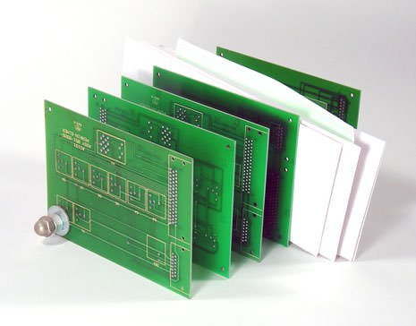 Circuit Board Mail Holder Recycled Electronic Waste