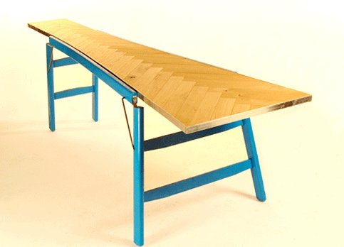 Wooden Ladder Into Table Recycled Furniture Wood & Organic