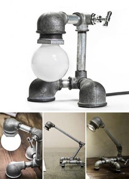 Lighting Made of Galvanized Iron