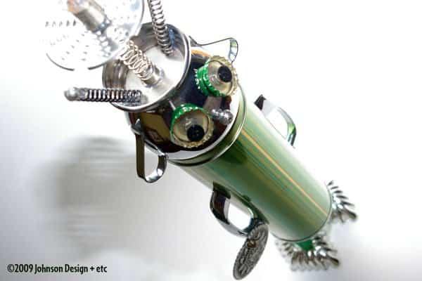Treasurebots Recycled Art Recycling Metal