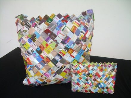 Accessories Made Out Of Upcycled Magazine
