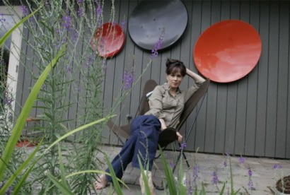 Repurposed arty satellite dishes