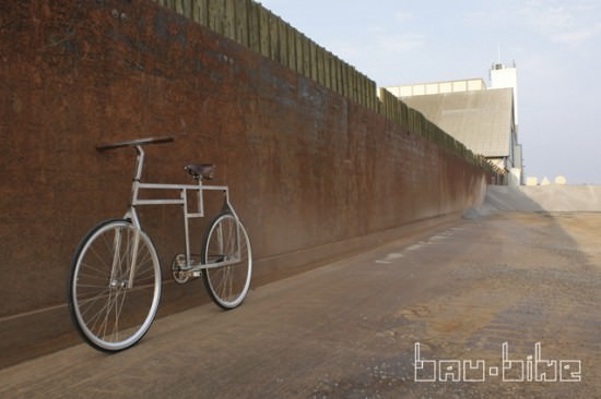 bau bike Bau Bike: inspired by Bauhaus design ! in bike friends  with Metal Bike