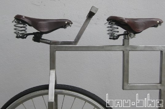 Bau Bike: inspired by Bauhaus design ! in bike friends  with Metal Bike
