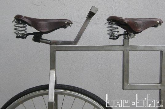 Bau Bike: inspired by Bauhaus design ! in bike friends  with Metal Bike