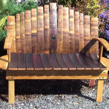 Wine barrel furnitures