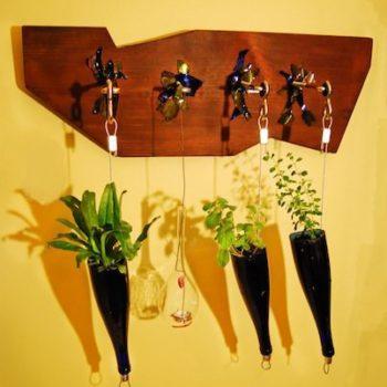 Hanging spices garden
