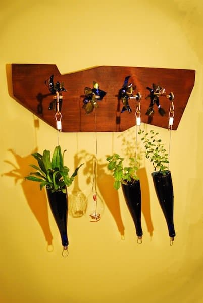 Hanging spices garden Accessories Recycled Glass
