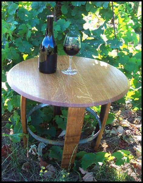 Wine Barrel Furnitures Recycled Furniture Wood & Organic