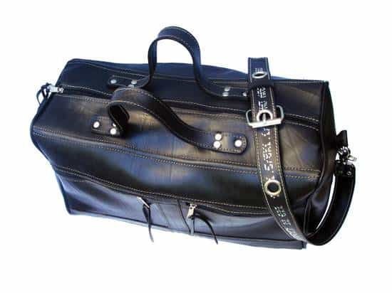 Travel Bag from inner tubes in tyre inner tube  with Inner tube Bags