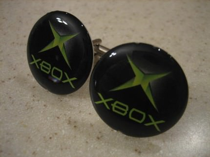 X-Box cufflinks Accessories Recycled Electronic Waste