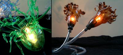 More Pet Art Do-It-Yourself Ideas Lamps & Lights Recycled Plastic