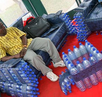 Bottles furniture