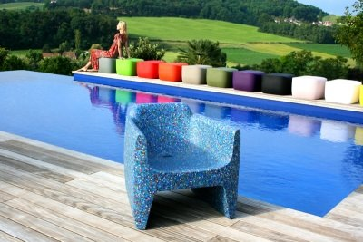 Bottlecap chair