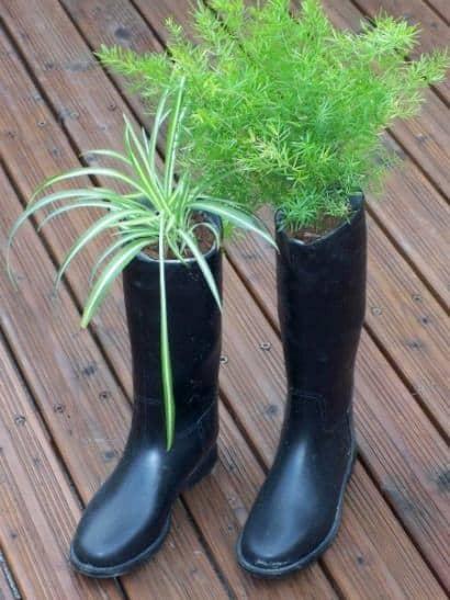 Flowerpot boots