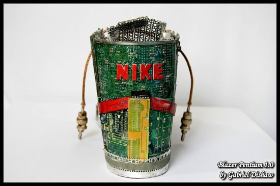 Blazer Pentium 1.0 By Gabriel Dishaw Recycled Art Recycled Electronic Waste