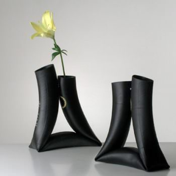 Bike Inner Tube Vases