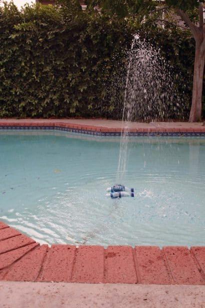 The Pool fountain