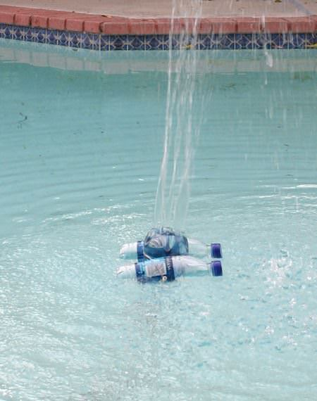 The Pool fountain Recycled Packaging Recycled Plastic