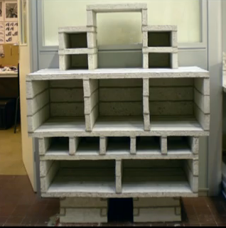 Paper pulp in paper furniture  with Paper & Books Furniture