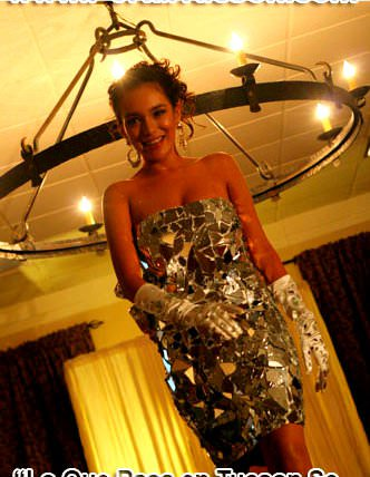 Broken Glass Dresses Accessories Recycled Glass