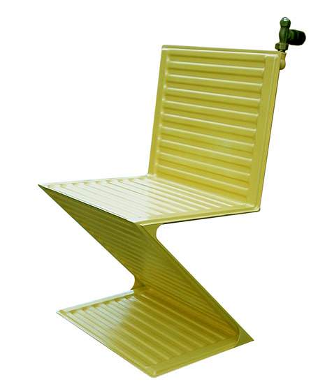 Radiator seat Recycled Furniture Recycling Metal