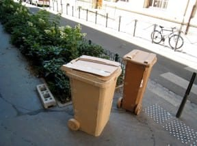 Cardboard bins