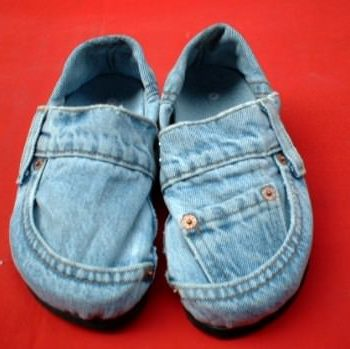 Denim shoes ?