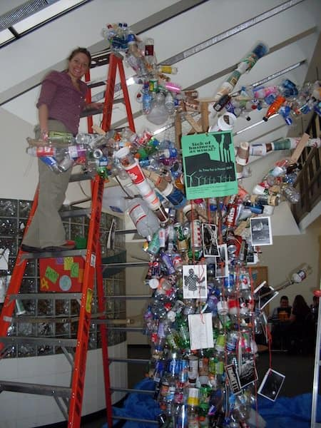 Recycled Art Tree Recycled Art Recycled Packaging