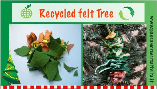 Recycled Felt Christmas Tree Do-It-Yourself Ideas