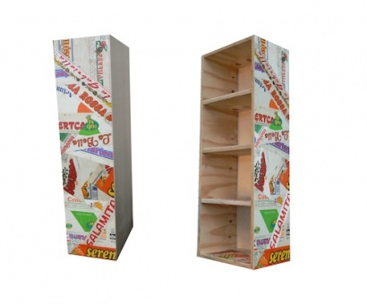 Vegetal boxes cabinets