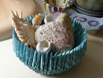 Origami bowls