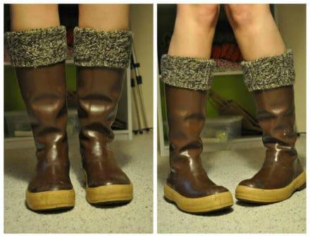 Felted Sweater socks