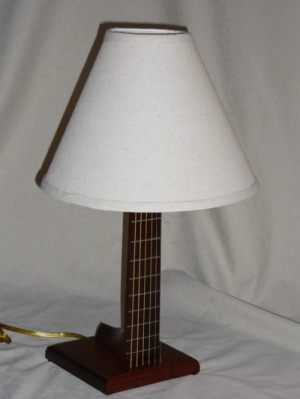 Guitar desk neck lamp