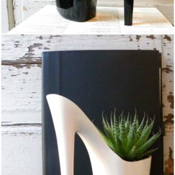 Dominatrix Shoes into Planters