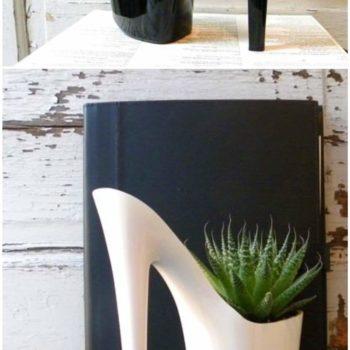 Dominatrix Shoes into Planters