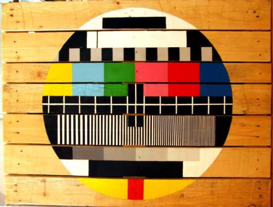 test pattern recyclart