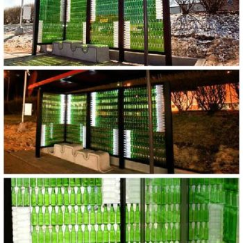 Recycled Bus Stop