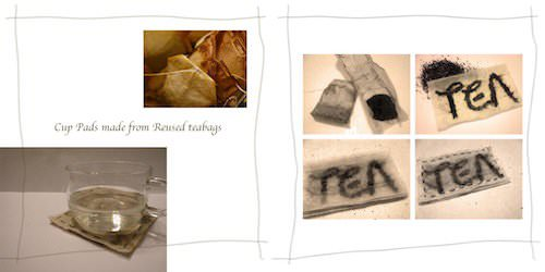 Teapag Recycled Art Recycled Packaging