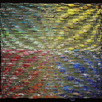 Repurposed Plastic Bags Tapestry