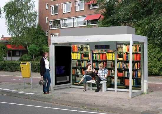 Library of the Future? Interactive, Happening & Street Art