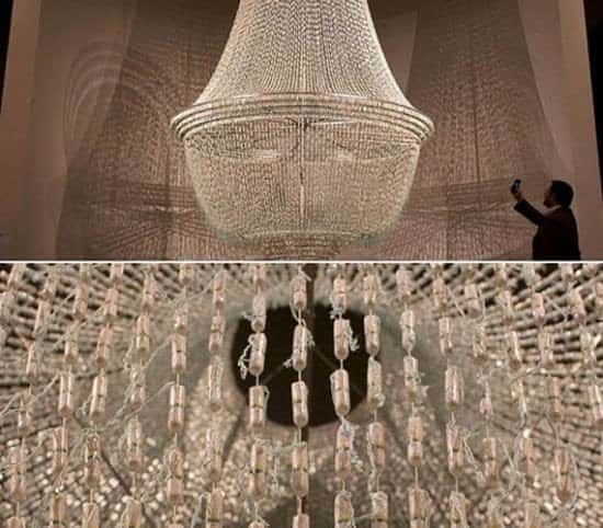 Tampon Chandelier... Clothing Lamps & Lights
