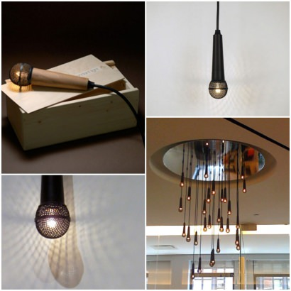 Solo Lamp: Upcycled Microphone Into Light