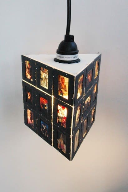Upcycled Sopranos Slides Into Pendant Lamp