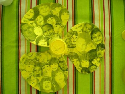 Fan blades collage