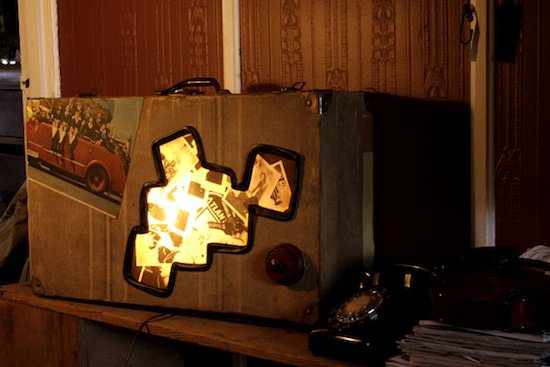 Upcycled Suitcases Into Lamps Lamps & Lights