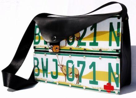 Numberplate Handbag