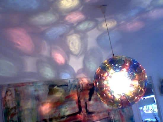 Spherical Cup Lamp Lamps & Lights Recycled Plastic