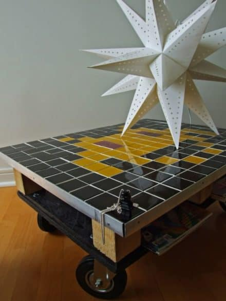 Space invader coffee table